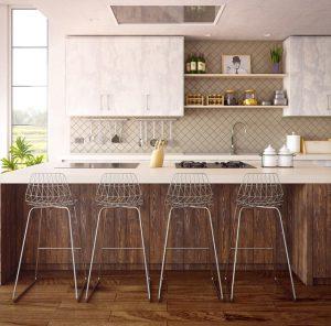 Co sprawia, iż lada barowa coraz częściej pojawia się w naszych kuchniach?